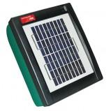 Batteri- och nätdrivet elstängsel AKO Sunpower S 550 (9V) med en solpanel