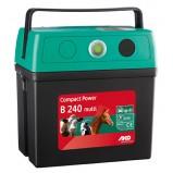 Batteri- och nätdrivet elstängsel AKO CompactPower B240-Multi (9V/12V/230V)