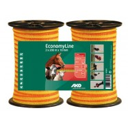 Elstängselband AKO EconomyLine 10 mm/200 m DUO-pack