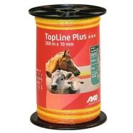 Elstängselband AKO TopLine Plus 10mm/200 m